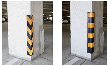 Rubber Corner Guards Corner Protection Parking Padding