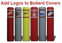 Decorative Bollard Covers With Hdpe Plastic Parking