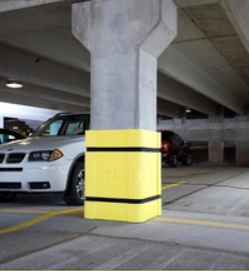 Park Sentry Square Column Protection Parking Padding